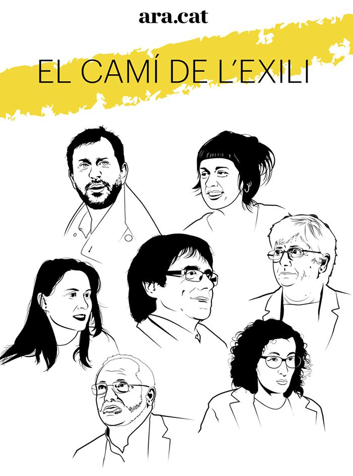 El camí de l'exili